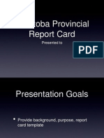 Provincial Report Card
