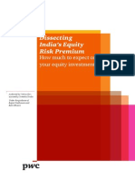 Dissecting India's Risk Equity Premium