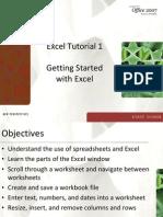 Excel. Basics
