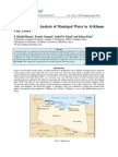 Physicochemical Analysis of Municipal Water in Al-Khums, Libya