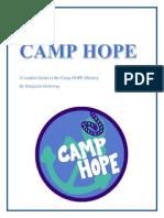 camp hope manual