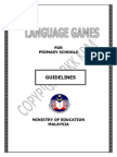 Language Games Concept Paper Wednesday 12.30pm