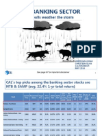 SL Banking Sector Report - Two Bulls Weather the Storm - 02 May 2014