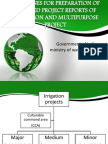 Guidelines for Preparation of Detailed Project Reports Of
