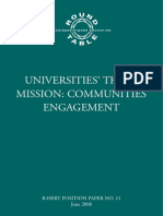 Third Mission of Universities