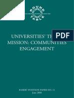 Third Mission of Universities