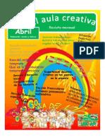 Revista El Aula Creativa Abril