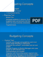 Budgeting Concepts