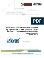 Manual Inscripcion Estudiantes ICFES
