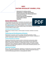 Assessment of Coatings Systems