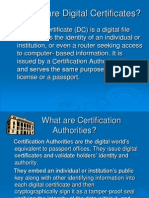 digital certificate...