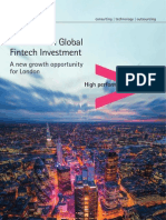 Boom in Global Fintech Investment