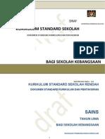 dokumen standard kurikulum dan pentaksiran sains sk tahun 5