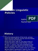 Kurds Linguistic Policies