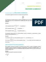 08. Fraciones Algebraicas