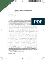 FERRAJOLI, Luigi- Universalismo de Los Derechos y Multiculturalismo