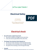 1- Electrical Safety