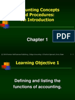 Accounting chapter 1
