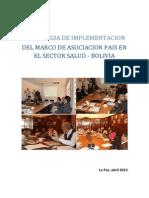i46estrategia de Implementacion Del Map en Salud en Bolivia