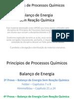 Balanço de Energia - Sem Reação Química (1)