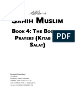Sahih Muslim - Book 04 - The Book of Prayers (Kitab Al-Salat)