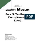 Sahih Muslim - Book 05 - The Book of Zakat (Kitab Al-Zakat)