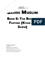 Sahih Muslim - Book 06 - The Book of Fasting (Kitab Al-Sawm)