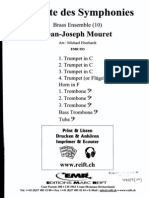 1.Suite Des Symphonies - Jean Joseph Mouret for brass dectet
