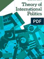 1979 Theory of International Politics by Kenneth Waltz
