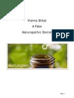 e005 Vianna Stibal Fake Naturopathic Doctor
