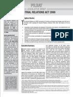 PILDATLegislativeBrief-IndustrialRelationsAct2008