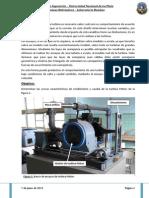 Laboratorio Turbinas - Máquinas Hidráulicas