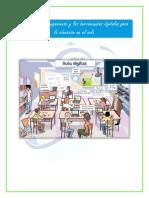 los modelos de equipamiento y las herramientas digitales para la educación en el aula lista