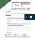PROCEDIMIENTO DE SANITIZACIÓN X AREAS BORRADOR