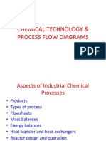 Chemical Technology and Process Flow Diagrams