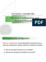 Lecture 8. Electron Configuration and Chemical Periodicity