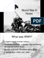 WW II Quick Overview