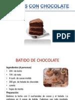 Chocolate Masas