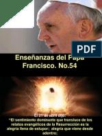 Enseñanzas Del Papa Francisco - Nº 54