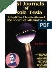Tesla, Swartz - The Lost Journals of Nikola Tesla - HAARP - Chemtrails and Secret of Alternative 4 (2000)