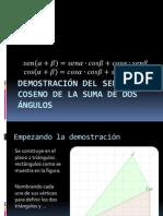 Demostración Del Seno y Del Coseno de La Suma de Angulos