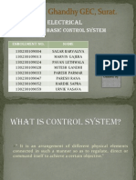 BE Basic Control System