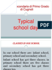 italy - a typical school day