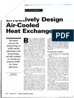 Air Cooler Design Sheiko
