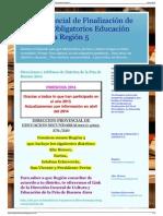 Plan Provincial de Finalización de Estudios Obligatorios Edu