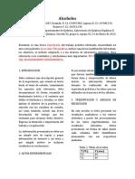 Informe Practica 1 Alcoholes