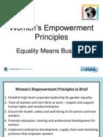 Womens Empowerment Principles