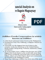 Jollibee Financial Analysis