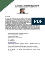 Tecnicas y Metodos de Investigacion Social en Derecho