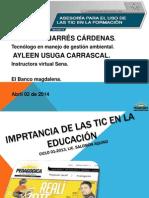 importanciadelasticenlaeducacion-140402130714-phpapp02